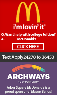 McDonalds Supports Mason Bands (sm)